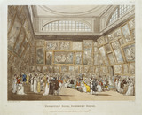 Exhibition Room, Somerset House: 1808