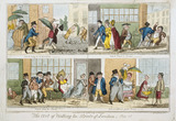 The Art of Walking the Streets of London: 1818