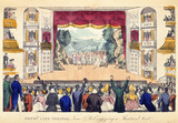 Drury Lane Theatre, Tom & Bob enjoying a Theatrical treat: 1821