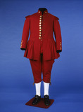 Waterman's uniform, front view: 19th century