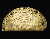 Nightmans plaque: 18th century