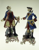 Bow porcelain portrait figures: 18th century