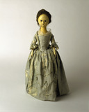 Wooden doll: 18th century