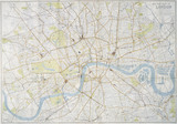 New plan of London: 20th century