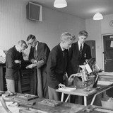 Craft lessons at Tulse Hill Comprehensive: 1958