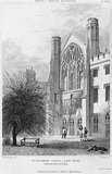 East Front of St Stephen's chapel: 1807