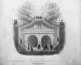 Thames Tunnel, Wapping Entrance: 1843