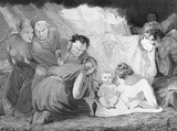 The infant Shakespeare attended by Nature and the Passions: 1799