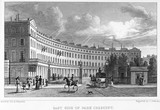 East side of Park Crescent: 1829