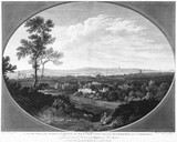 A South View of the Cities of London and Westminster, taken from Denmark Hill near Camberwell: 1799