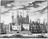 La Tour de Londres: 17th century