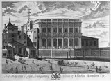 His Majesty's Royal Banqueting House of Whitehal [sic] London 1713