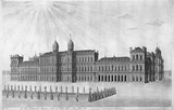 Of His Britannick Majesty's Palace of White Hall the Park Side: 1749