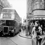 Tottenham Court Road and Oxford Street junction: 1965