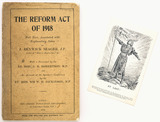 The Reform Act of 1918 and postcard 'At Last!'