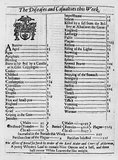 Bill of mortality: 1665