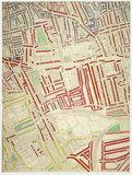 Descriptive map of London Poverty: Section 57: 1889