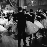 Couples ballroom dancing: 1950-1970