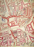 Descriptive map of London Poverty: Section 58: 1889