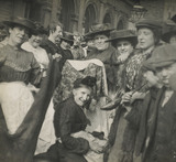 Old clothes sellers in Poplar: c.1900