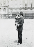Policeman with lost child: c.1900