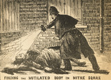 Finding the mutilated body in Mitre Square: 1888