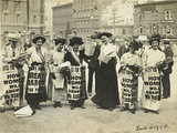 Suffragettes Poster Parade:  20 June, 1908