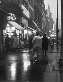 Evening street scene in Charing Cross Road c. 1935