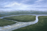 Valley of the River Colne, Southern England: 8000 BC