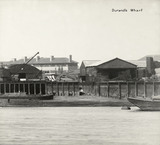 Thames Riverscape showing Durand's Wharf: 1937