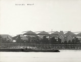 Thames Riverscape showing Durand's Dock: 1937