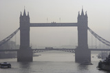 Tower Bridge in the fog; 2007