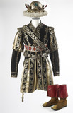 Costume worn by Edmund Kean as Richard III: 1833