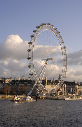 The London Eye; 2009