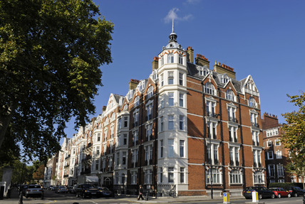 A mansion block, Chelsea; 2009