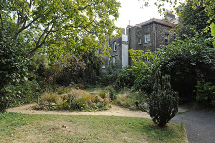 The Pleasure Garden in Bonnington Square; 2009