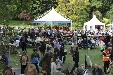 Crowds at the Chelsea Flower Show; 2003
