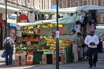 Electric Avenue, Brixton Market; 2009