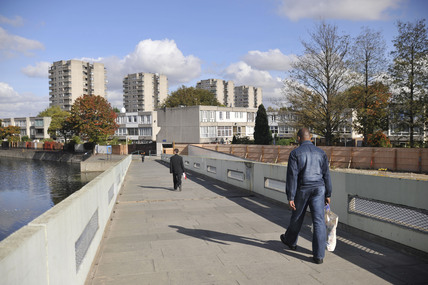 A view of Thamesmead Housing Estate ; 2009