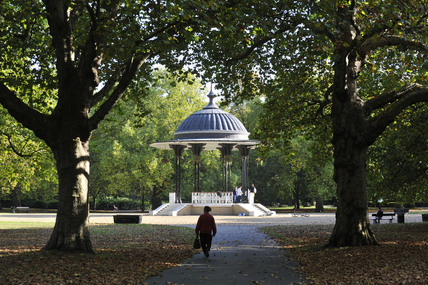 The bandstand in Southwark Park; 2009