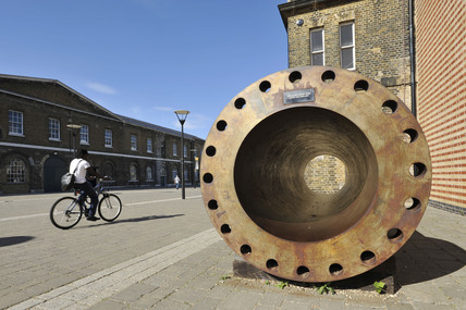 Supergun at Royal Artillery Museum, Woolwich: 2009