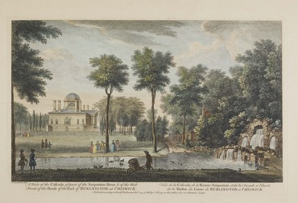 A view of the Cascade at the Serpentine; 1753