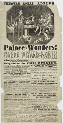 Playbill for the Theatre Royal, Adelphi: c. 1840