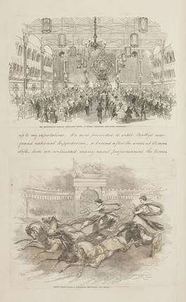 The scrapbook of Mr. W.J. Bell's visit to see the Great Exhibition: 1851