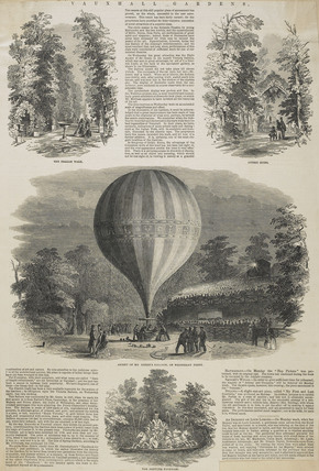 Newspaper cutting from The Illustrated London News