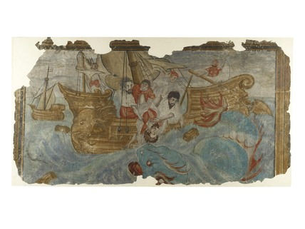 Jonah Cast Overboard and swallowed by a whale: 1540-1600