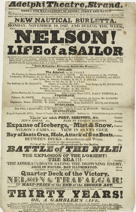 Nelson or life of a sailor; 1827