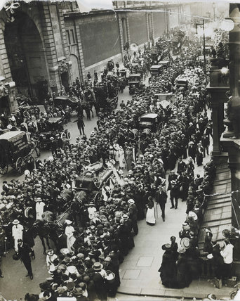 Funeral Procession of Emily Wilding Davison: 1913
