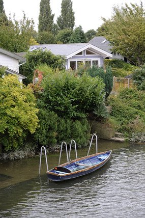 Housing on Eel Pie Island; 2009