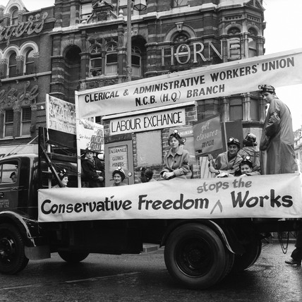 May Day float: 1955